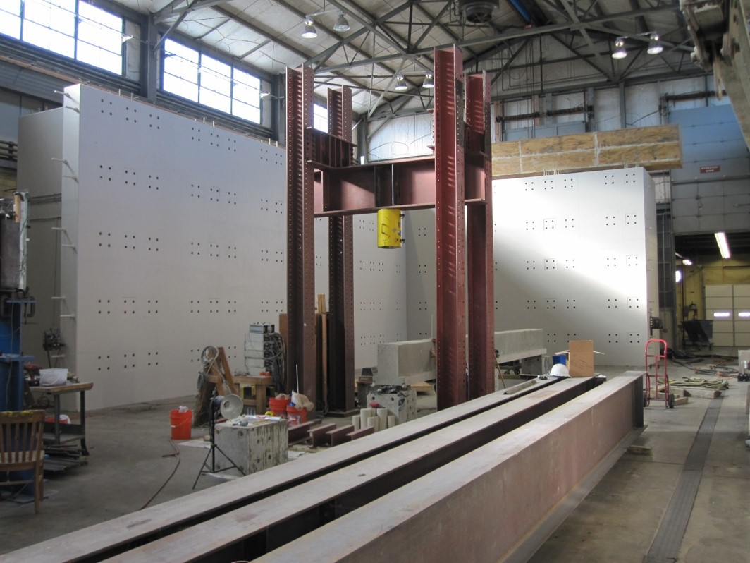 view of the reaction wall