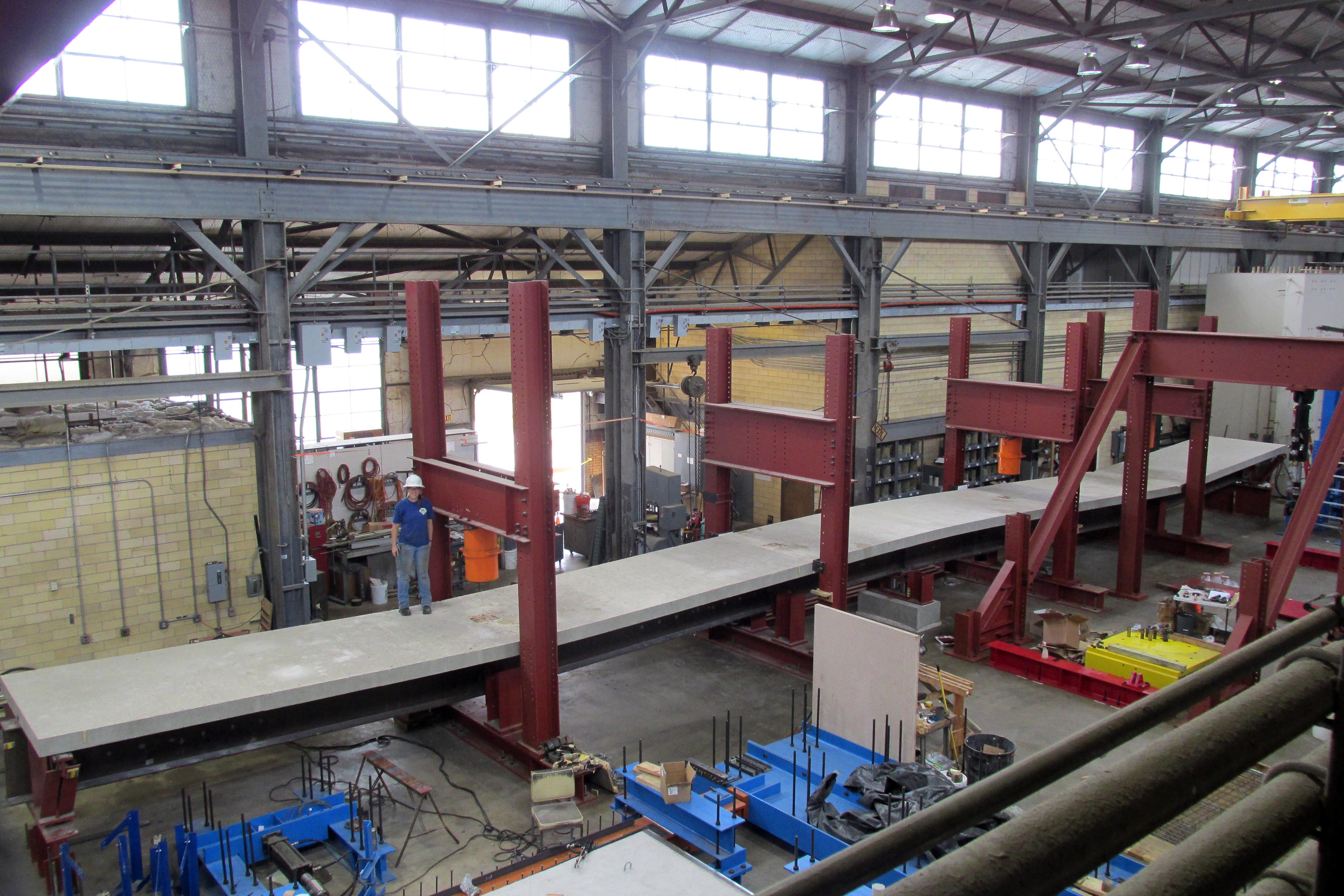 Strengthening Continuous Steel Girder Bridges With Post